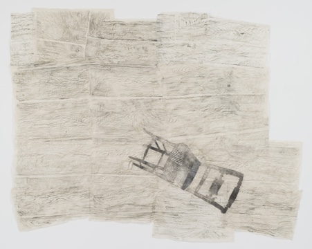 Kiki Smith, Fallen Chair